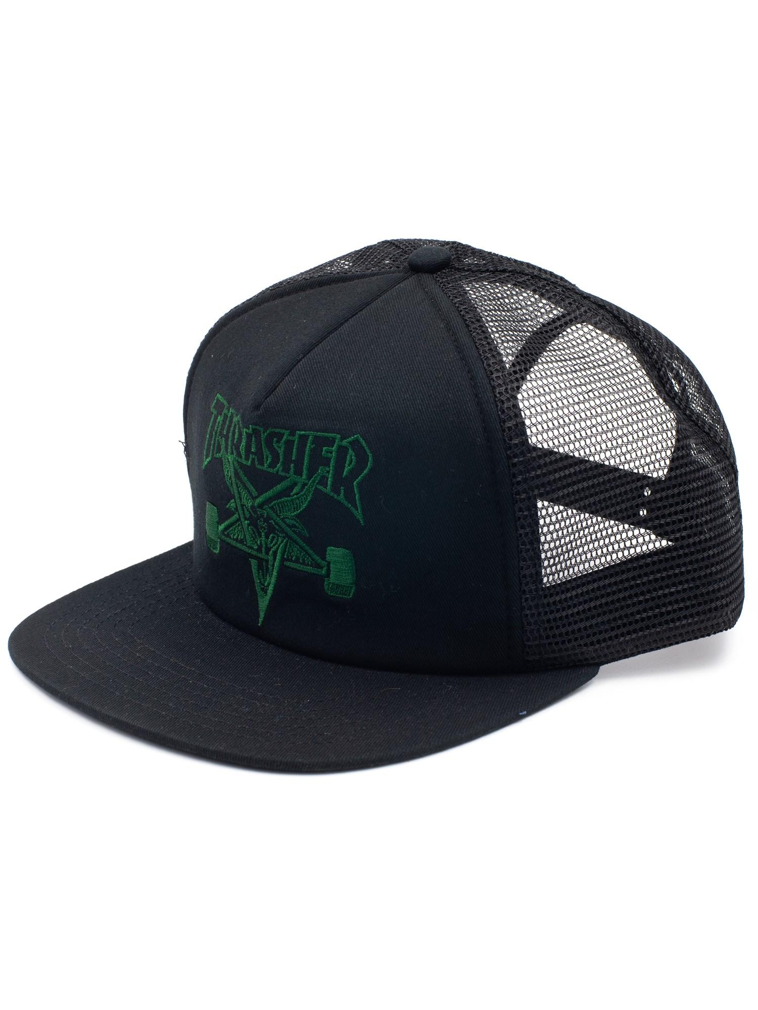 SHOPMen StreetwearCapsTrucker. Thrasher. Skate Goat Embroidered Mesh Cap 00e15ffb3ab